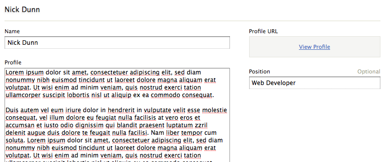 Entry URL Field: Add a hyperlink in the backend to view an entry URL in the frontend